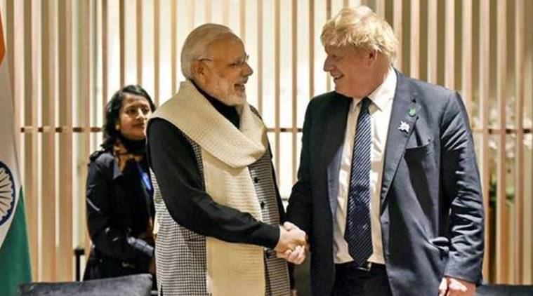 UK-India relationship, boris johnson, brexit, uk prime minister, uk prime ministerial election, new British Prime Minister, British Prime Minister election, boris johnson vs jeremy hunt, narendra modi, indian diaspora, conservative party, india news, uk news, indian express