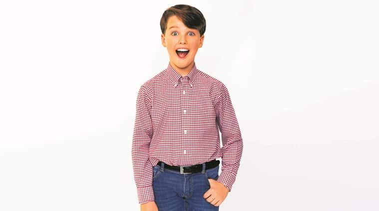 Iain Armitage, Young Sheldon, Iain Armitage asYoung Sheldon, Young Sheldon TV series, Iain Armitage Teen Choice Awards, Indian Express news