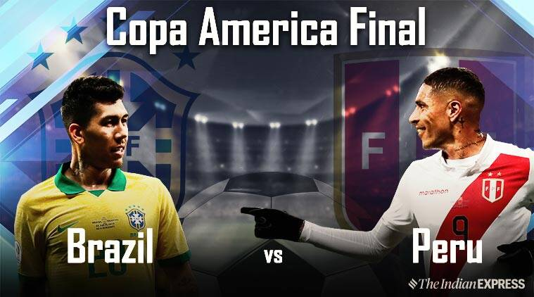 Copa America Final 2019 Highlights Brazil Win It On Their