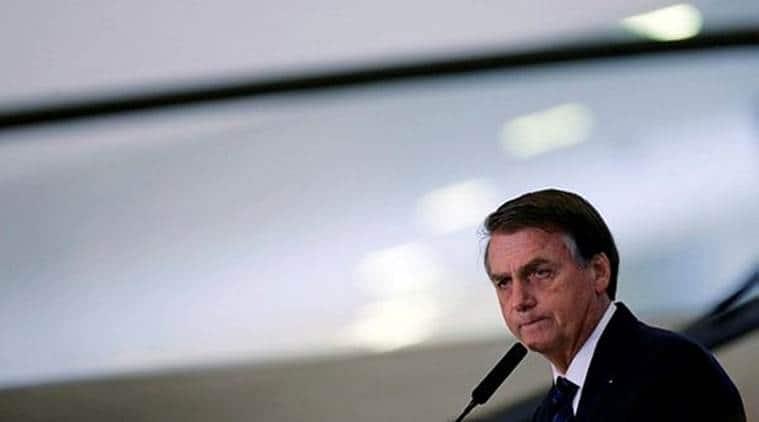 jair bolsonaro, brazil president, brazilian president jair bolsonaro, brazil president jair bolsonaro, eduardo bolsonaro, world news, Indian Express