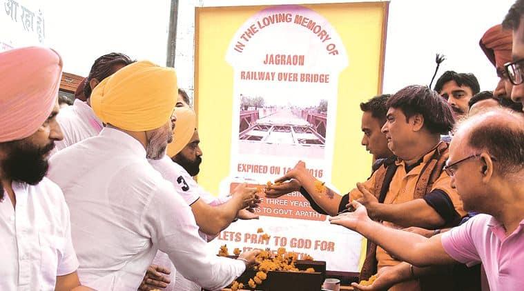 ludhiana, ludhiana news, Jagraon bridge, Jagraon bridge closed, Jagraon bridge protest, punjab news