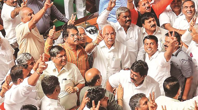 Karnataka: Coalition that rode to power with trust vote loses another