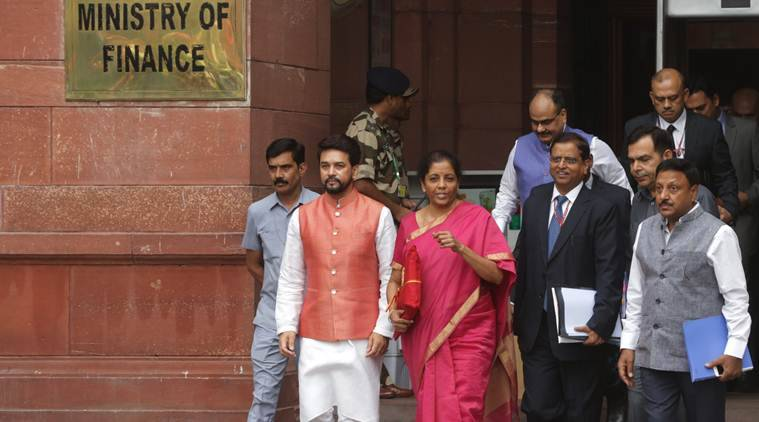 finance ministry, finance ministry journalists, finance ministry press, finance ministry restricts journalists, nirmala sitharaman, union budget, venkaiah naidu, subramanyam swamy, pib, bjp, sharad pawar, indian express news