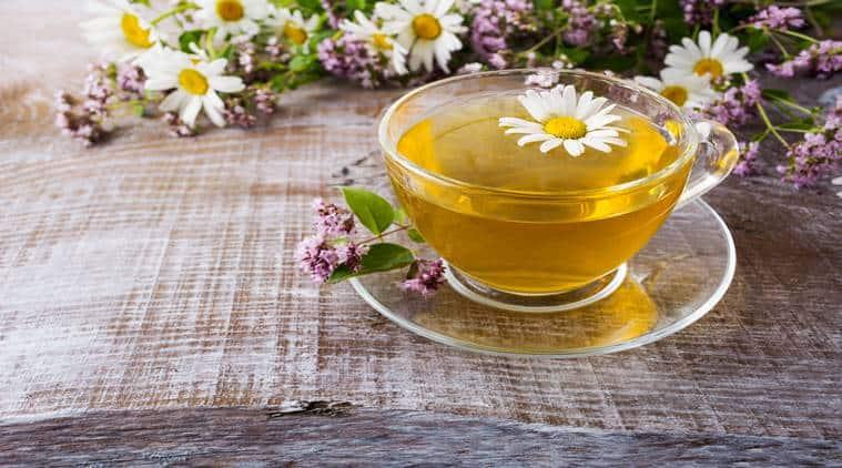 camomile tea, foods to sleep properly, sleep habits, indian express, indian express news