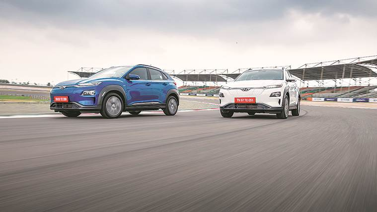 e-cars, e-vehicles, electric cars, electric vehicle market, Indian electric car, race car, car race, indian express, sunday story