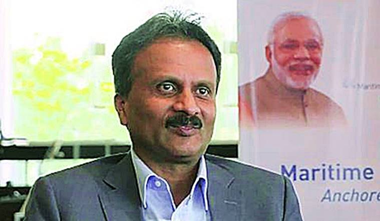Who is VG Siddhartha?