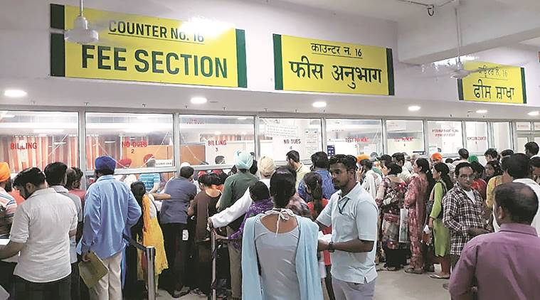 Chandigarh: Computer system conks out at PGI; patients, attendants suffer