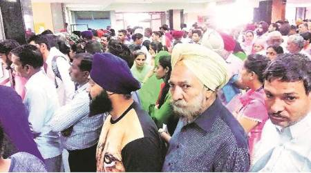 PGIMER, PGIMER Chandigarh, PGIMER Patients,PGIMER long queue, PGIMER appointement, PGIMER bookings, PGIMER Delay, PGIMER Appointment delay, Chandigarh news, Indian Express news