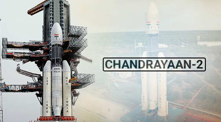 ISRO, Chandrayaan, Chandrayaan-2, Chandrayaan 2 mission, Chandrayaan 2 images, Chandrayaan 2 moon, India moon landing, India moon misison, moon misison India, India ISRO, ISRO moon landing, moon landing India, ISRO Sriharikota, Indian space mission images, Science news, Indian Express