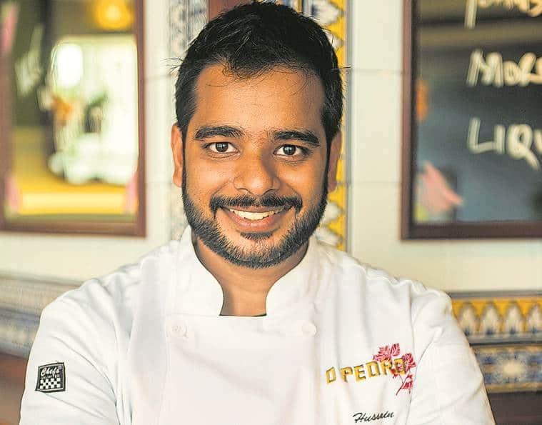 Chef Hussain Shahzad, Chef O Pedro restaurant, Mumbai o pedro restaurant, o pedro restaurant mumbai, goan restaurant o pedro,