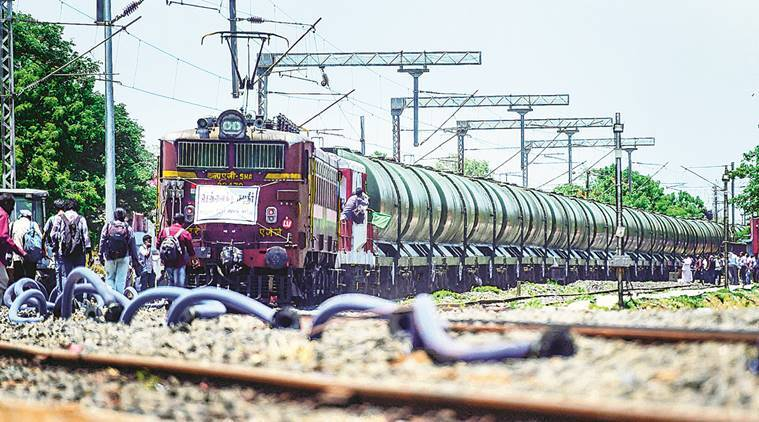Parched Chennai finally gets water — on train from Vellore