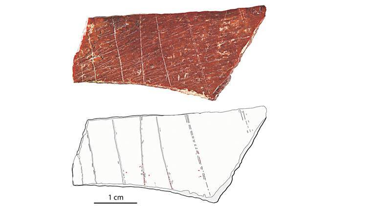 In China, archeologists find earliest evidence of ochre on bone engravings