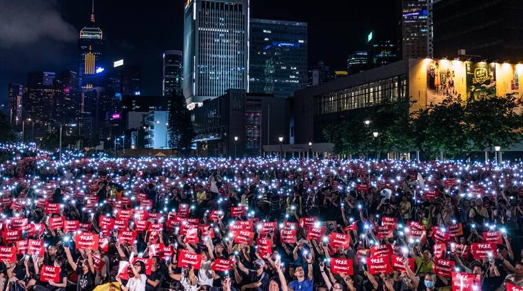 Chinese state media blames 'Western ideologues' for Hong Kong protests