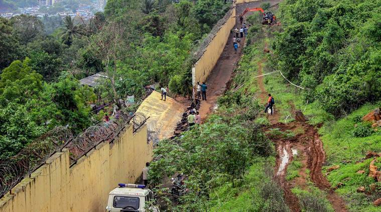 malad wall collapse, mumbai wall collapse, malad wall collapse death toll, pimpri pada, bmc, maharashtra wall collapse, mumbai monsoon, mumbai news
