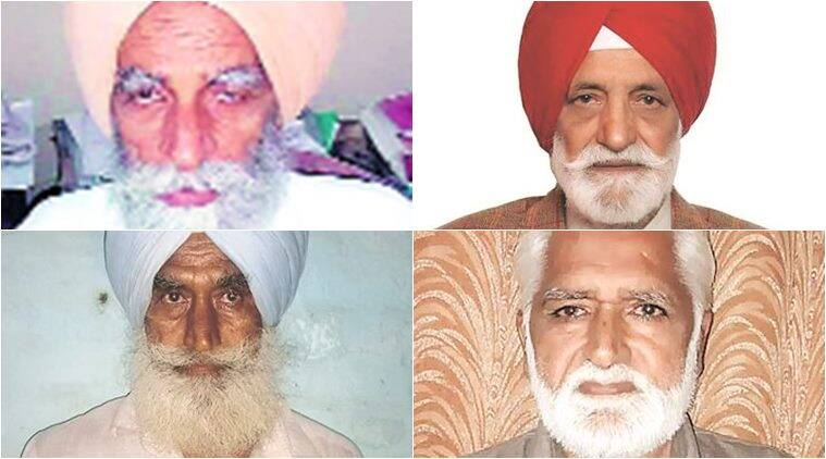 In Mohali, four villagers stand as guardians of sand