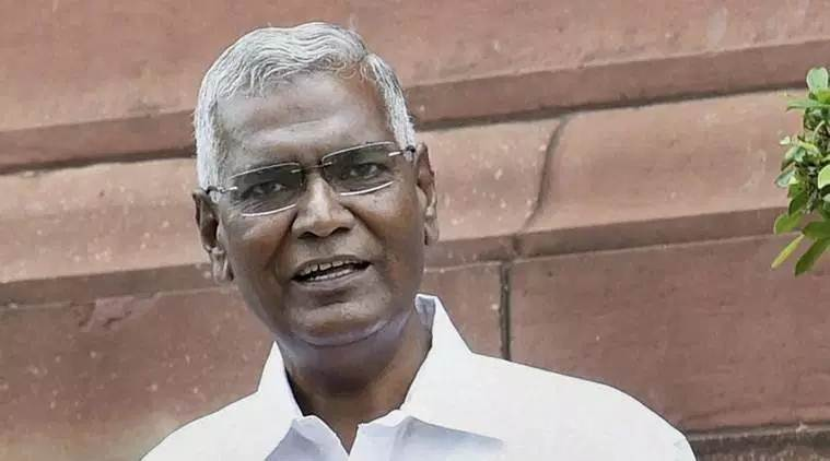 D Raja, D Raja new party chief, D Raja CPI, S Sudhakar Reddy, CPI, CPI new party chief, S Sudhakar Reddy steppes down, S Sudhakar Reddy resignation, Indian Express news, latest news