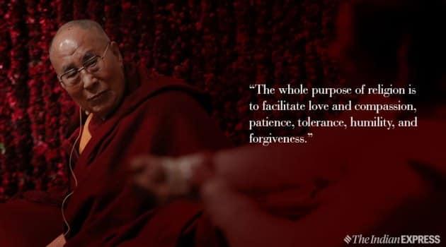 Dalai Lama, Dalai Lama birthday, inspiring speech, dalai lama motivational messages