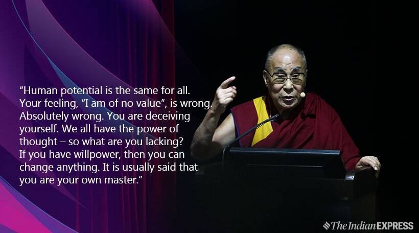 Dalai Lama, Dalai Lama birthday, inspiring speech, dalai lama motivational messages