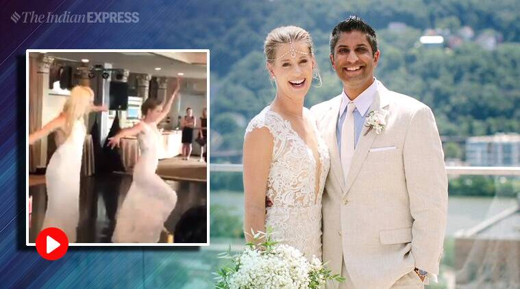 WATCH: At her wedding, American tennis player Alison Riske dedicates Bollywood dance number to Indian followers