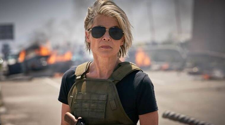 Linda Hamilton on Terminator Dark Fate: In this film, the action is ten times bigger
