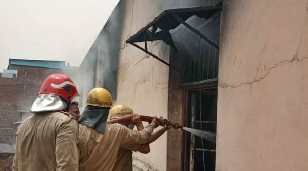 Gujarat: Fire breaks out at dye-producing factory godown in Anand; no casualties