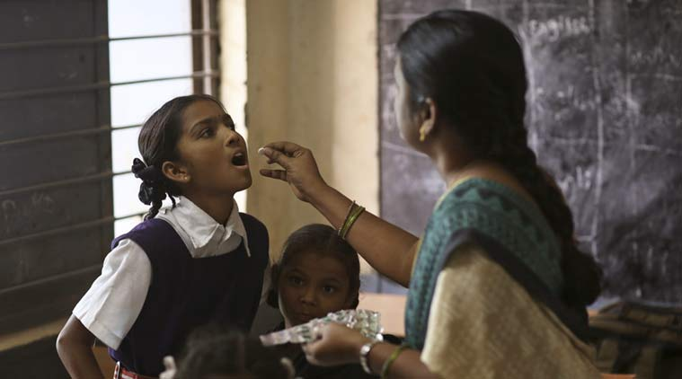 deworming, dewoming in india, National Deworming Programme, indian express, indian express news