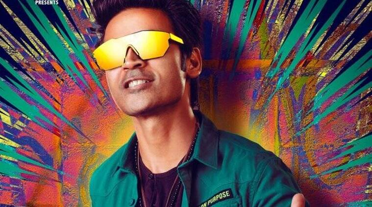 dhanush unveils his Pattas first look poster