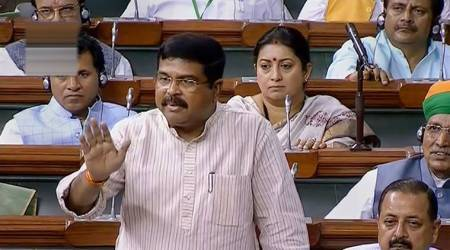petroleum minister, dharmendra pradhan, ongc, hpcl, ongc privatisation, ongc disinvestment, ovl, parliament today, india news, indian express
