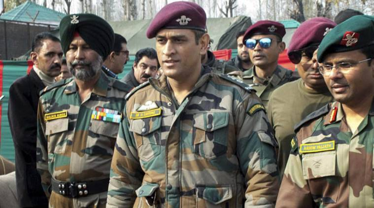 Ms Dhoni To Train With Parachute Regiment Also To Visit J K Reports Sports News The Indian Express
