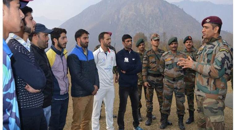 Mahendra Singh Dhoni, MS Dhoni, Dhoni, Territorial Army, Dhoni Army training, Parachute regiment, Para regiment, Dhoni Para regiment, India news, Indian Express