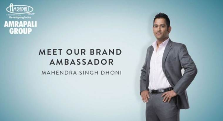 MS Dhoni's wife Sakshi was a director with 25% stake in Amrapali Group firm