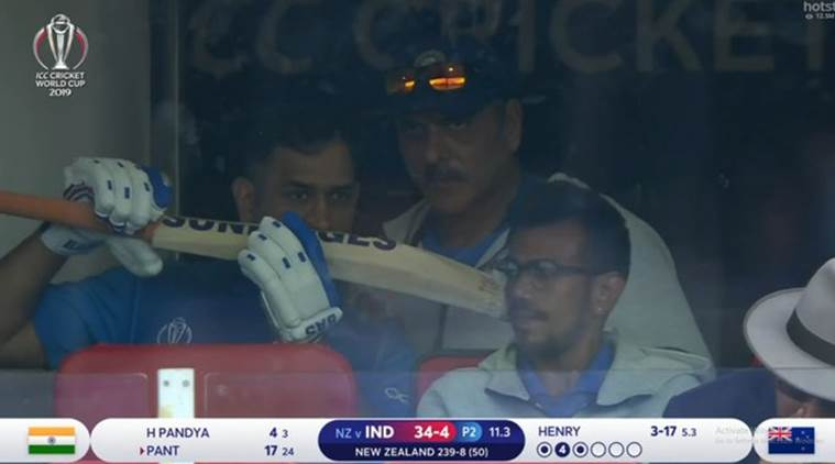 Fans are heartbroken seeing MS Dhoni cry after India's failed run chase