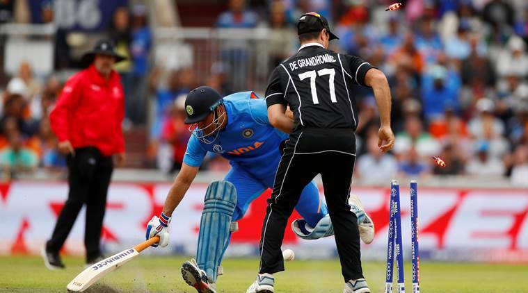 Martin Guptill's run out of MS Dhoni changed the course of the match