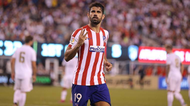 Watch Diego Costa Hits Four As Atletico Madrid Smash Real Madrid 7 3 Sports News The Indian Express
