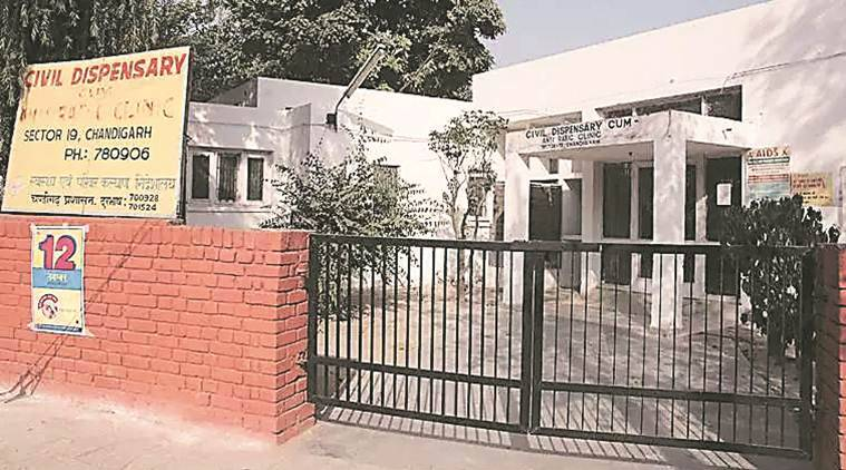 chandigarh, health department, health and wellness centres, dispensary, dispensary in chandigarh, health services, chandigarh news, indian express news