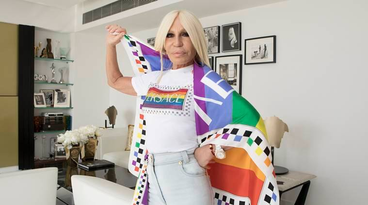 Donatella Versace, versace, Donatella Versace life, Donatella Versace, what does Donatella Versace, Donatella Versace, indian express, indian express news