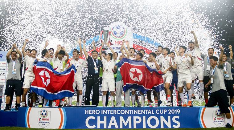 North Korea win Intercontinental Cup title after defeating Tajikistan in the final