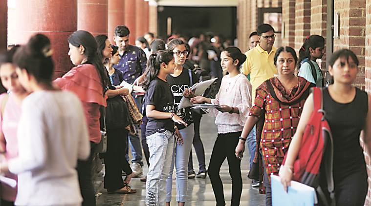 New academic session begins at Delhi University