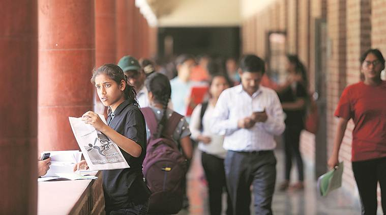 DU seventh cutoff, NCWEB 7th cutoff, delhi university admissions 2019, NCWEB admissions, NCWEB cut-off