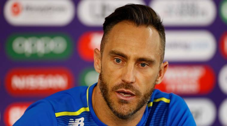 Faf du Plessis has one of his 'worst flying experiences' on way to India for Test series