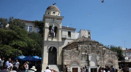 Greece, athens earthquake, earthquake magnitude, greek church, earthquake effect, tremors, earthquake tremors, indian express