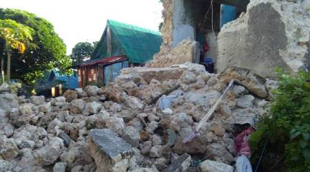 Eight killed in quake, aftershocks in Philippines, 60 injured
