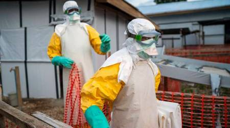 Ebola in congo, ebola reduction congo, ebola congo crisis, World health organisation, Guinea, DRC, democratic republic of Congo,global health, world news, indian express news india news, breaking newsEbola, Ebola news, Ebola Congo, Ebola outbreaks, Ebola history, history of Ebola, Ebola Africa, Africa Ebola, Indian Express