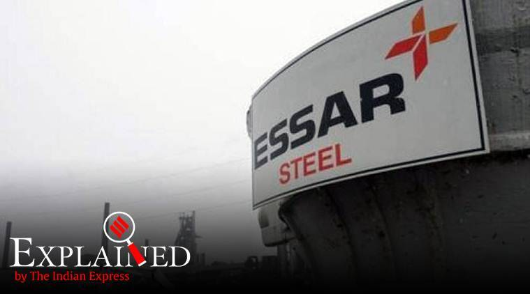 essar steel, nclat, National Company Law Appellate Tribunal, ArcelorMittal, NCLAT on essar steels, essar steel debt, essar steel revenue, essar steel NCLAT, indian express