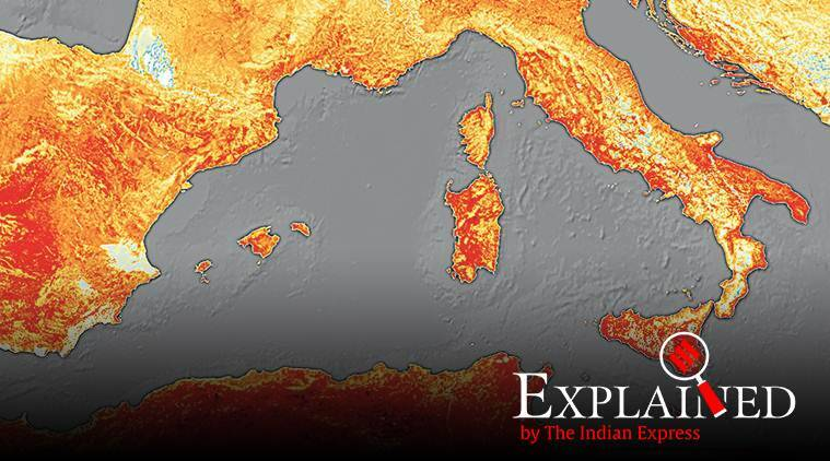 europe heatwave, europe temperature, europe weather, heatwae conditions, global climate, indian express