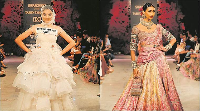 Tarun Tahiliani, fashion designer, fashion and lifestyle, india couture week, bloom, india couture week finale, indian express