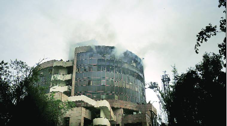 delhi fire, Fire in DGHS, Fire in Directorate General of Health Services, Karkardooma fire, Delhi Fire Services, Karkardooma fire death toll, Karkardooma fire property loss