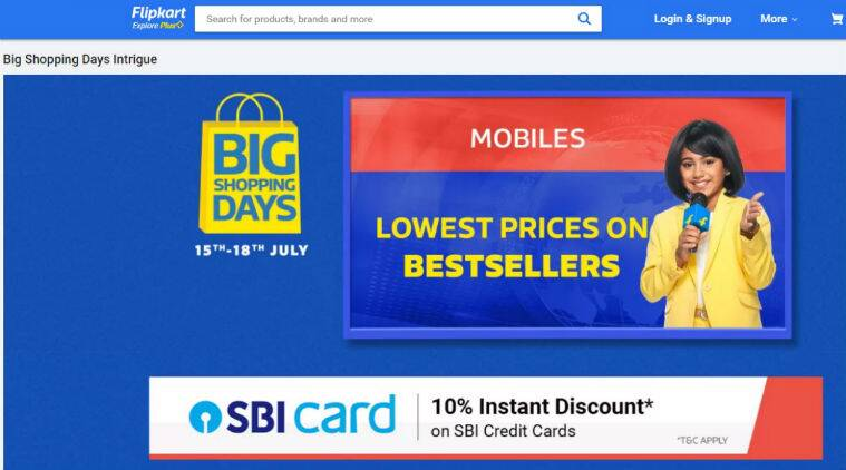 Flipkart, Big Shopping Days, Flipkart Big Shopping Days, Flipkart Big Shopping Days sale, Flipkart Big Shopping Days offers, Flipkart Big Shopping Days smartphone offers, Redmi Note 7S, Redmi Note 7S offer, Redmi Note 7S flipkart offer, Poco F1, Poco F1 offer, Poco F1 flipkart offer, Nokia 5.1 Plus, Nokia 5.1 Plus offer, Nokia 5.1 Plus flipkart offer, Motorola One Vision offer, Motorola One Vision flipkart offer, Vivo Z1 Pro, Redmi 7A, Vivo Z1 Pro sale, Vivo Z1 Pro flash sale, Redmi 7A sale, Redmi 7A flash sale