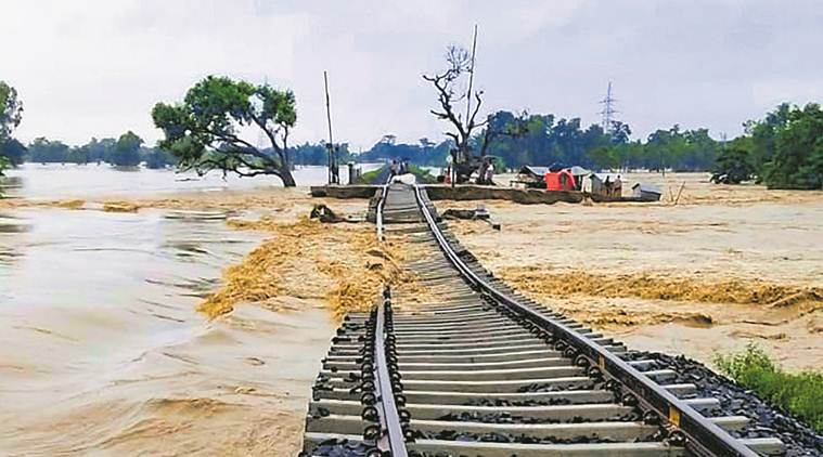 Nitish kumar, Bihar news, flash floods, Bihar flash floods, Bihar flash floods death toll, india news, indian express