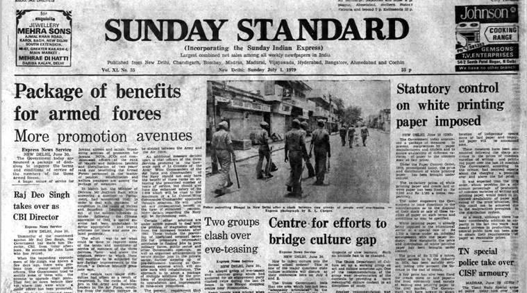 Forty Years Ago, July 1, 1979: Defence Package